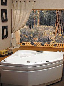 genoa corner bath